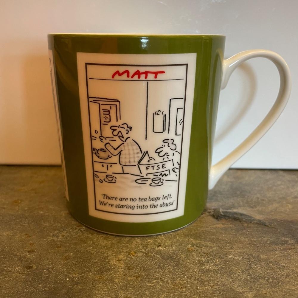 ECP Matt mug - Retirement (reduced price, slight flaw)
