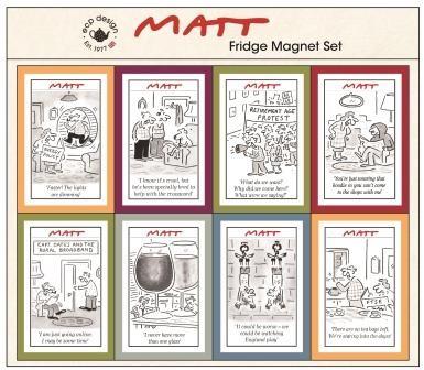 ECP Matt Magnets - Set of 8