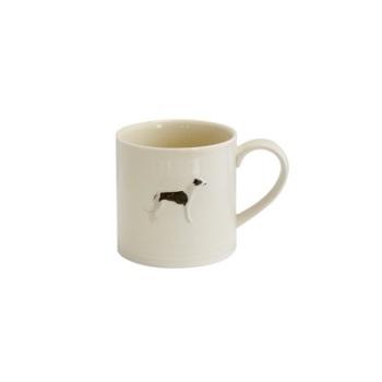 ECP Bailey & Friends Mug -  Whippet on cream glaze