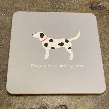 ECP Bailey & Friends Coaster - Spotty Dog coaster