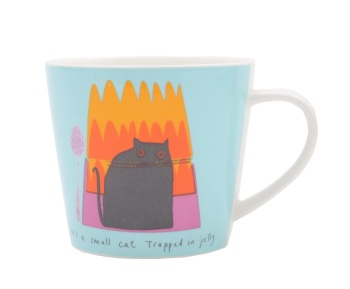 ECP Jane Ormes Mug - Cat trapped in jelly!