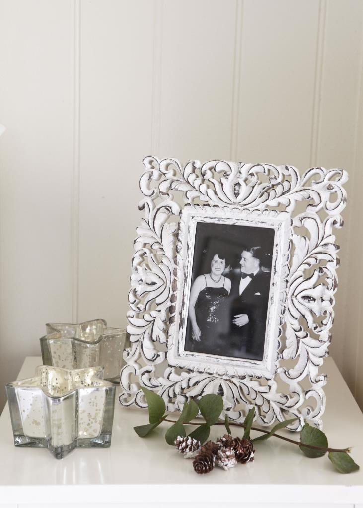 Retreat Home - Ornate Carved Wooden Frame