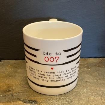 Bespoke Verse Mugs - Ode to 007