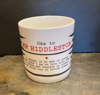 Bespoke Verse Mugs - Ode to Tom Hiddleston