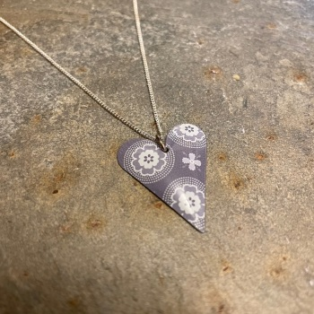 The Tinsmiths small heart necklace