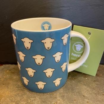 Herdy Flock Mug - Blue