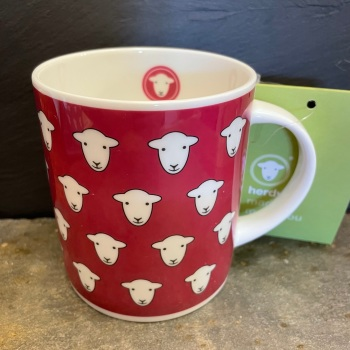 Herdy Flock Mug - Dark Pink