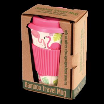 SALE! Rex Bamboo Cup - Flamingo Bay