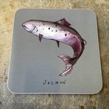 Katie Cardew Coaster - Salmon