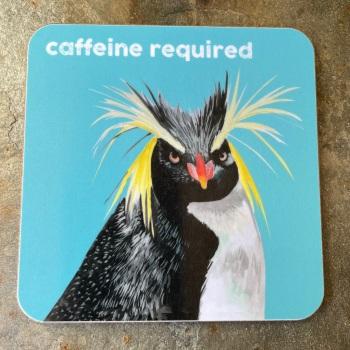 Cinnamon Aitch Coaster - Caffeine Required