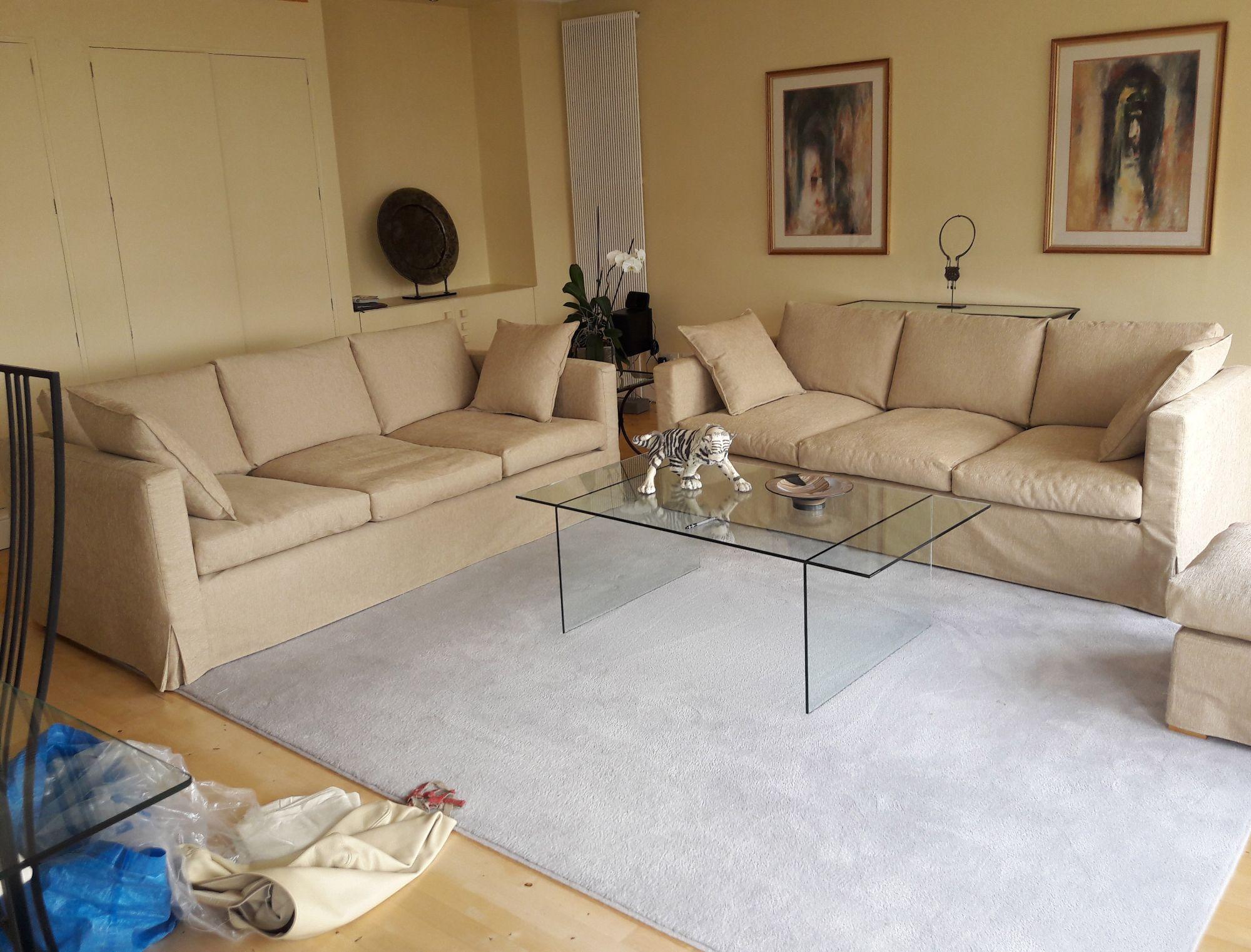 Modular sofa cover