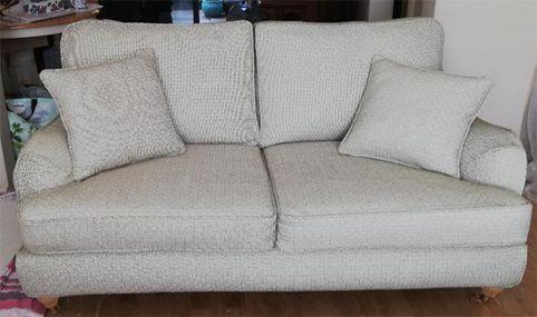 Geometric sofa cover