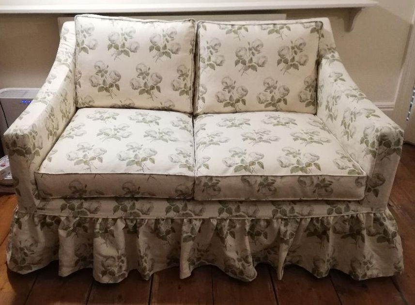 Colefax & Fowler Bowood sofa cover