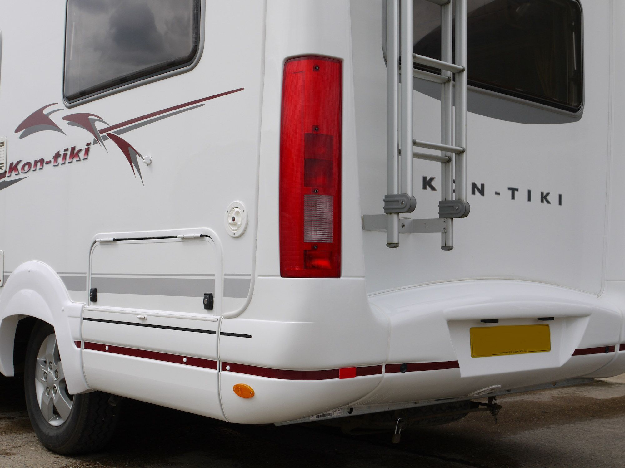 Repaired Motorhome