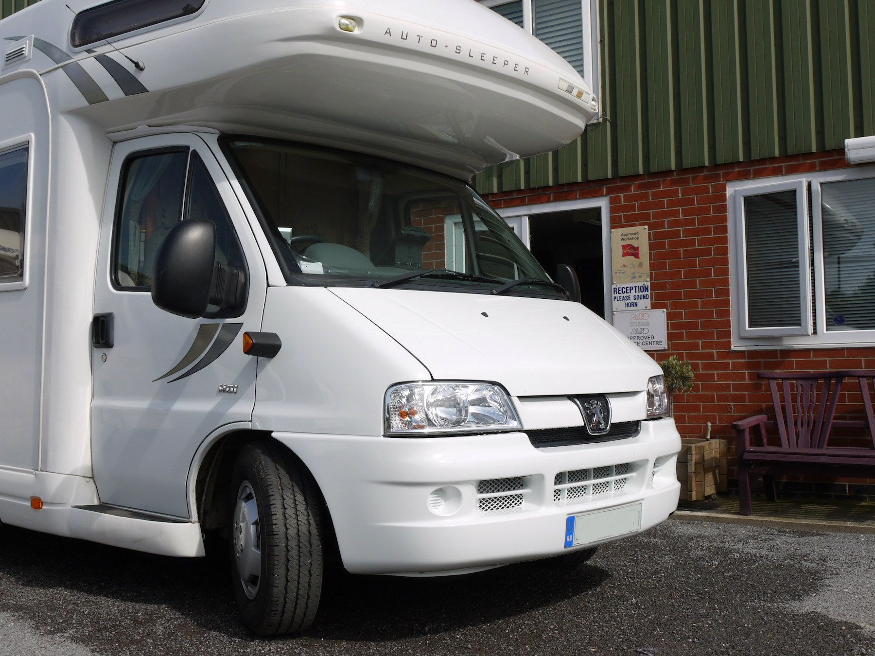 Motorhome repaired by Costock Caravan Services