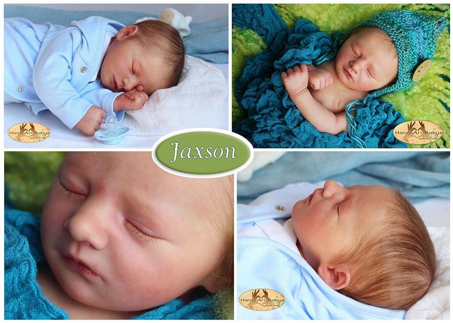 Seconds Jaxson Sleeping Realborn kit.