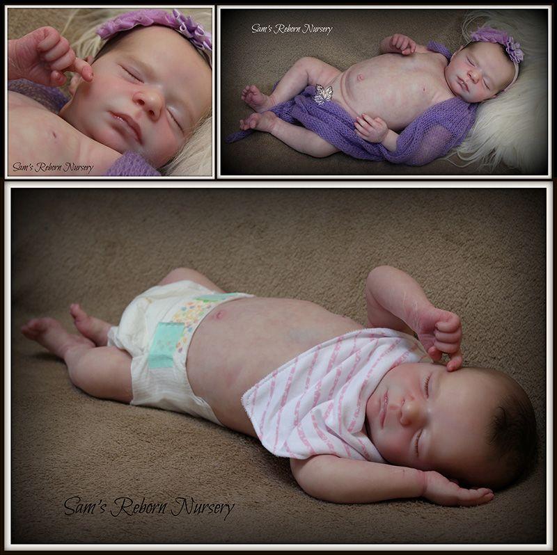 Seconds Madison Sleeping Realborn kit.
