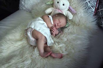"Realborn® Brittany Sleeping kit. 20"""