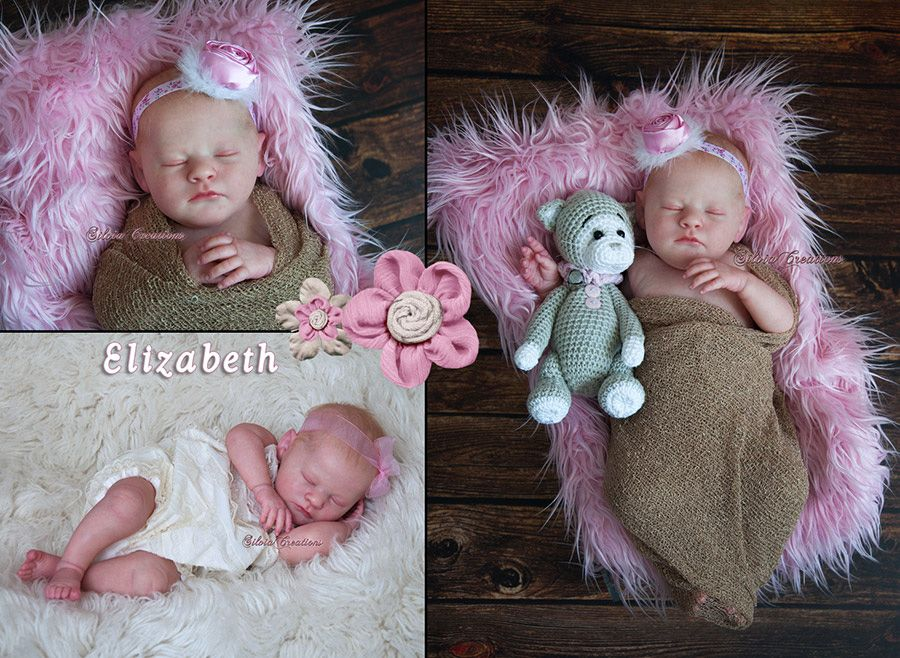 Realborn® Elizabeth Sleeping TWIN 20