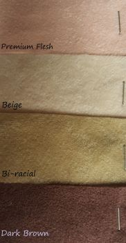 Faux doe suede fabric reborn bodies > 3/4 arms & Front facing open legs