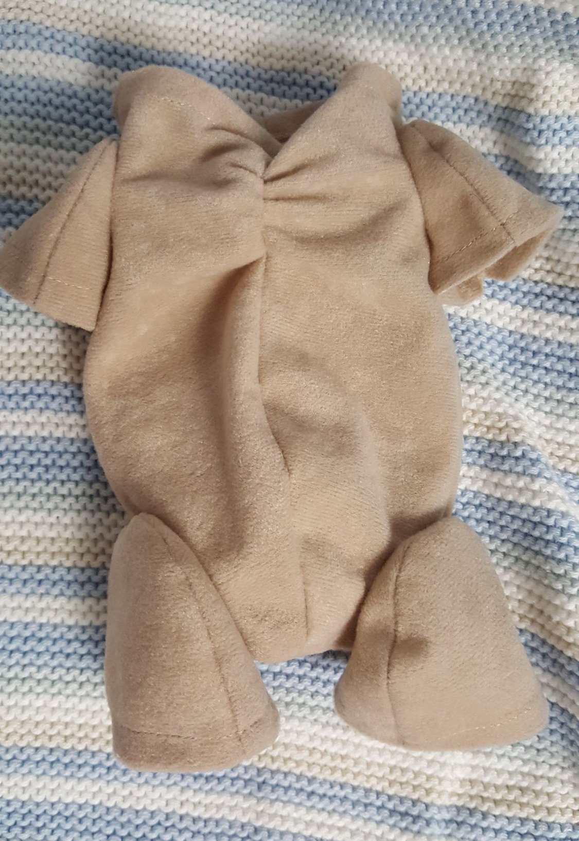 Faux doe suede fabric reborn bodies > 3/4 arms and 3/4 legs.