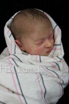 "SECONDS Realborn® - Aria sleeping Realborn® 17"""
