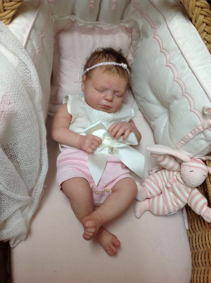 Realborn® Macey Sleeping Realborn®  TWIN 18