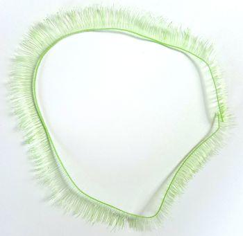 Pale green 8mm eyelash strip - 20cm long.