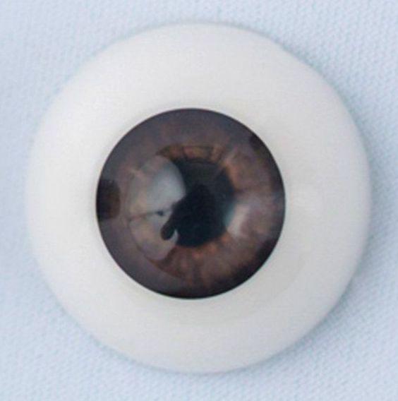 18mm eyes - Baby brown