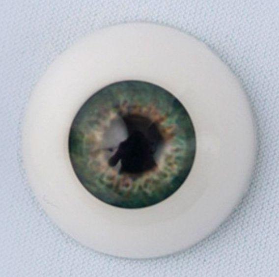 18mm eyes - Baby Green