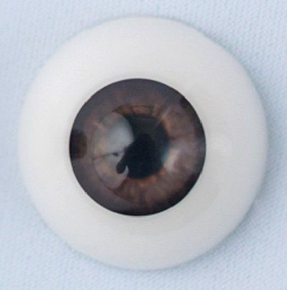 20mm eyes - Baby brown