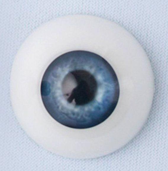 22mm eyes - True Blue
