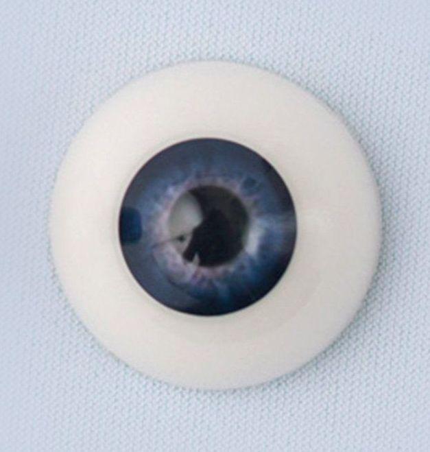 22mm eyes - Newborn deep blue sky