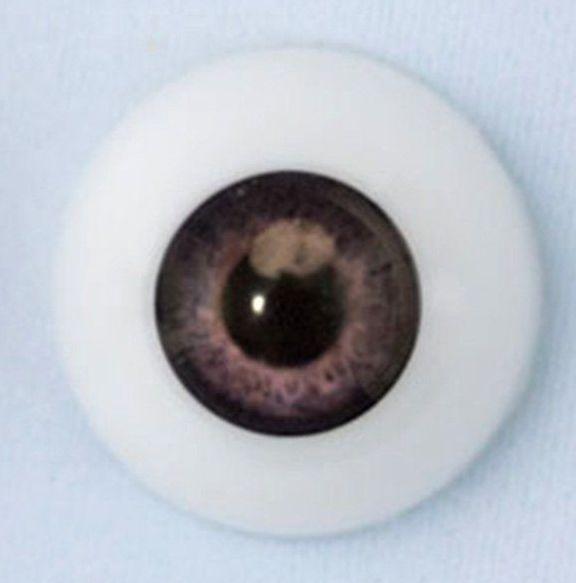 22mm eyes - Newborn dark grey