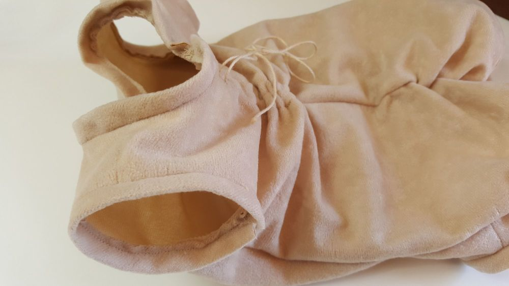 Fabric body for Kenzie & Amelia crawling babies - Gathered back (Drawstring