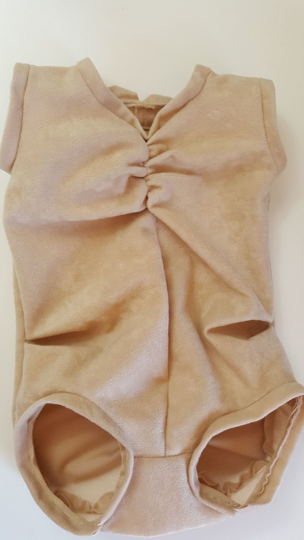 Fabric body for Kenzie & Amelia crawling babies - Gathered back (elasticate