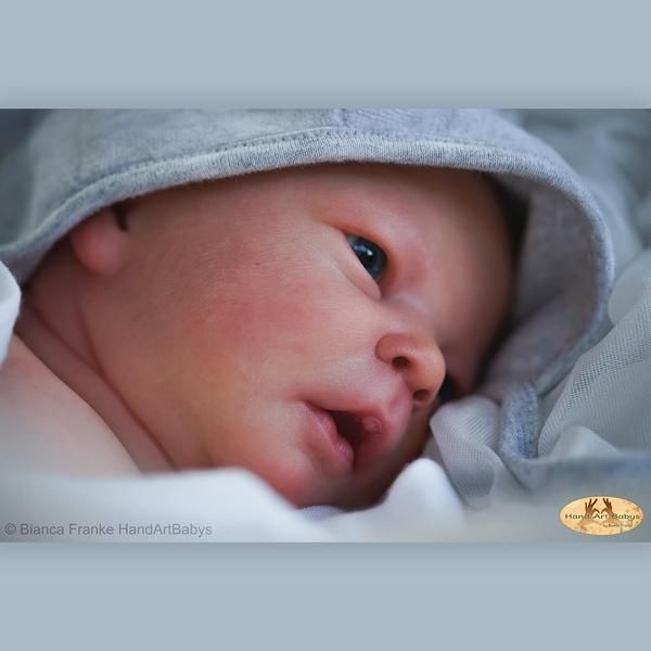 SECONDS Realborn® Darren awake - Vinyl kit 17.5