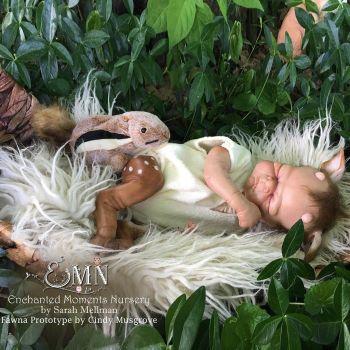 "Fawna (FOR REBORNING) 16.5"" Reborn Doll Kit"