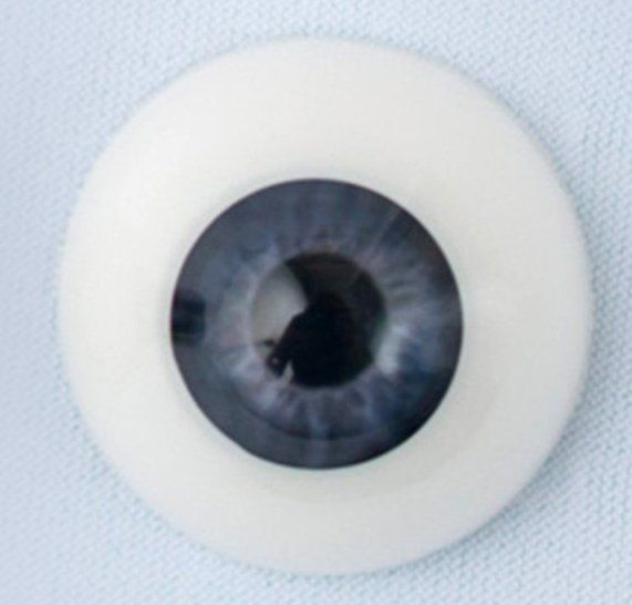 22mm eyes - Newborn grey