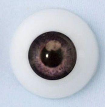24mm eyes - Newborn dark grey. 3505