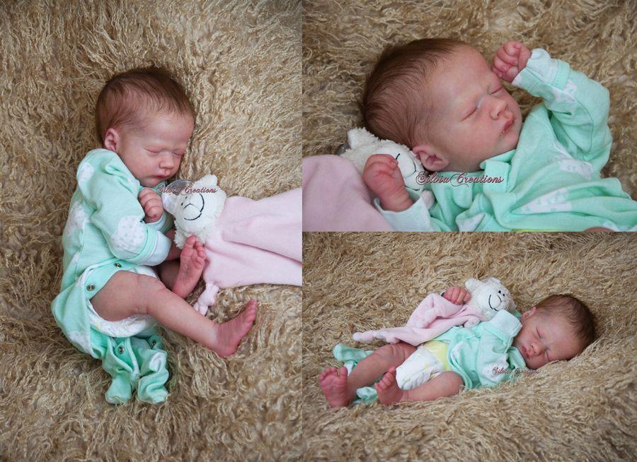 Realborn® Ashley Sleeping Realborn kit - 17