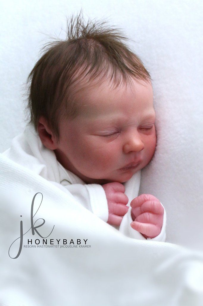 Realborn® Kelsey Sleeping Vinyl kit 16