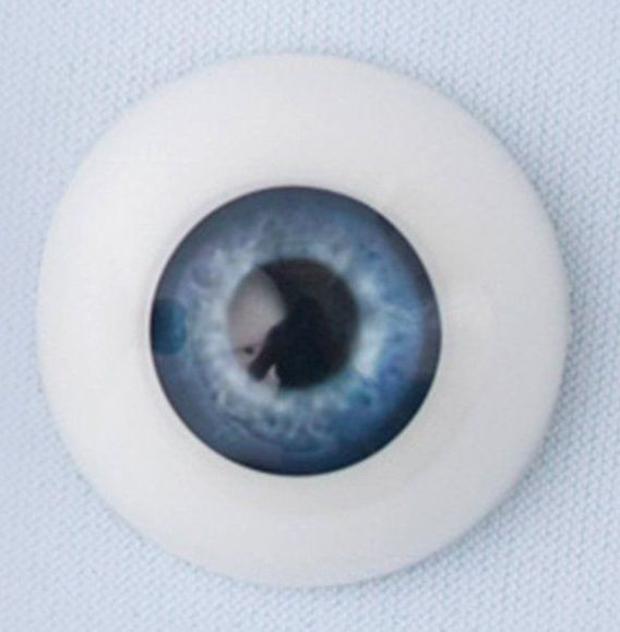 24mm eyes - True Blue