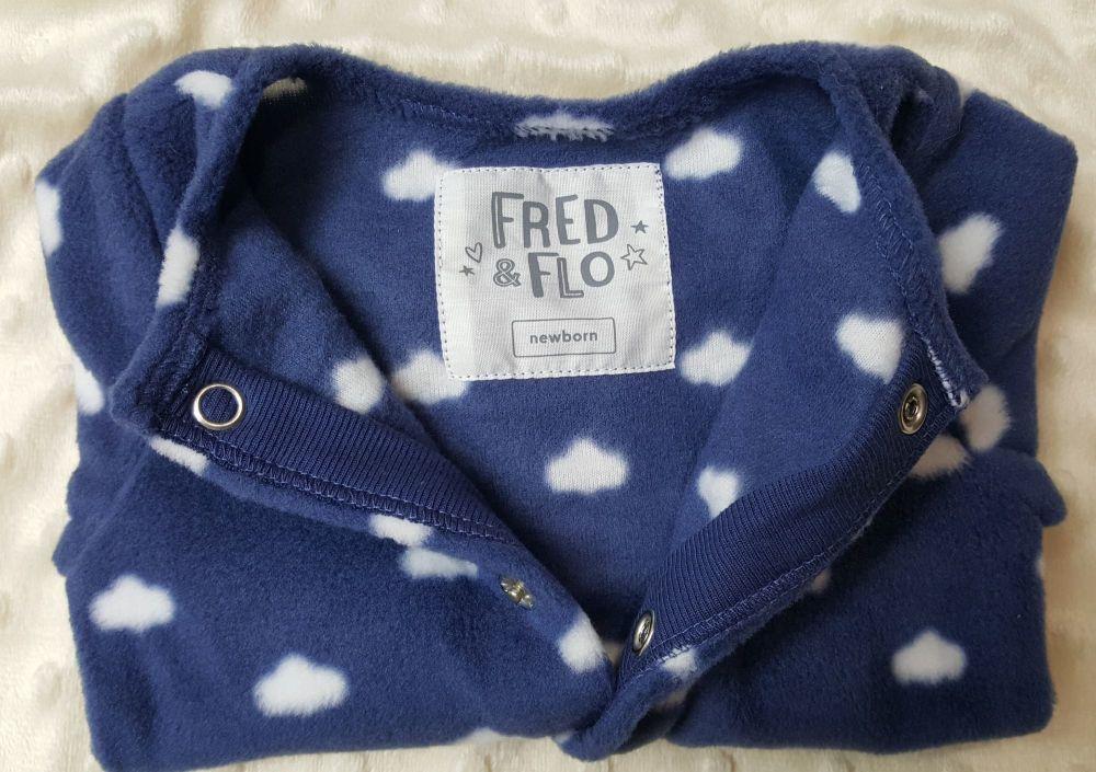 Fleece babygro  NBB-FF100NT
