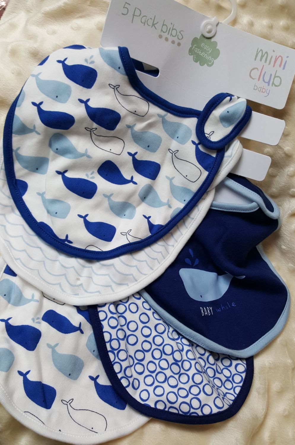 Bibs by Mothercare  -Set of 5