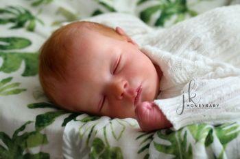 """Realborn® Callie Sleeping Realborn kit - 17"""" Kit - Full limbs."""