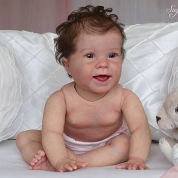 """SECONDS Kenzie, 10 Month Old (25"""") Crawler with Torso (Donna RuBert)."""