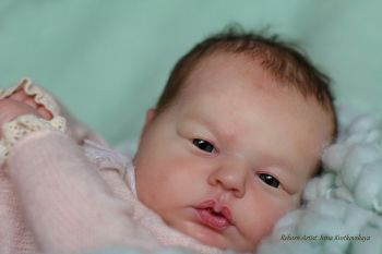 "SECONDS Realborn® Tessa Awake (19.5"" Reborn Doll Kit)"