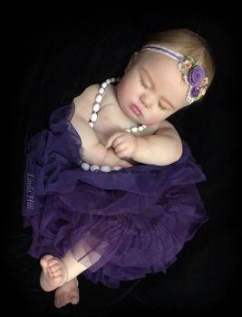 "Realborn® 7 Month June Sleeping (25"" Reborn Doll Kit)"