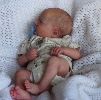 """Realborn® Blake Sleeping 18"""""""